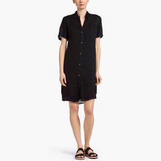 James Perse LIGHTWEIGHT LINEN SHIRT DRESS
