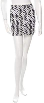 Stella McCartney Open Knit Mini Skirt w/ Tags