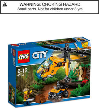 Lego City 201-Pc. Jungle Cargo Helicopter Set 60158