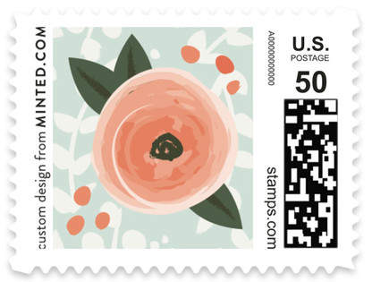 English Floral Garden Non-custom Everyday Stamps