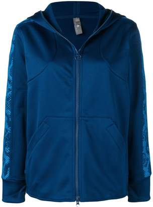 adidas by Stella McMartney zip front track hoodie