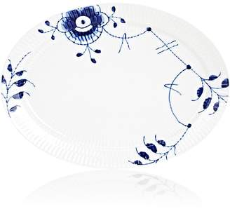 Royal Copenhagen Blue Fluted Mega Porcelain Oval Plate