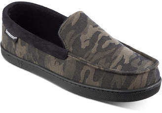 Isotoner Signature Men Camo Faux-Suede Moccasins with Memory Foam