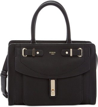 GUESS Kingsley Small Satchel $118 thestylecure.com
