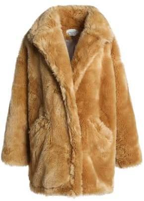 Halston Oversized Faux Fur Jacket