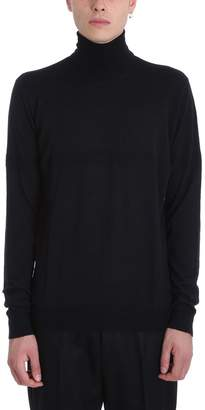 Golden Goose Black Wool Turtleneck Sweater