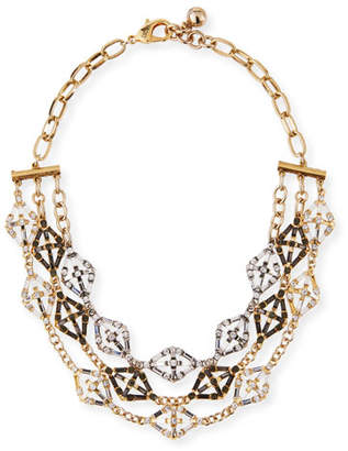 Lulu Frost Gloria Crystal Statement Necklace