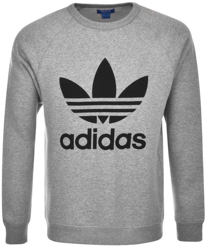 adidas black and white sweatshirt