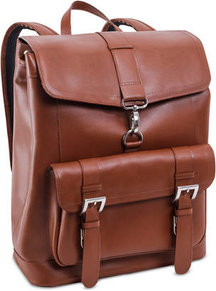 McKlein Hagen Leather Laptop Backpack