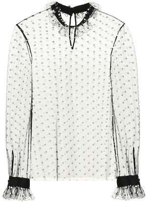 Philosophy di Lorenzo Serafini Dotted mesh top
