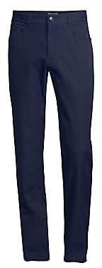 Peter Millar Men's Slim-Fit Five-Pocket Pants