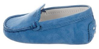 Tod's Boys' Suede Round-Toe Loafers $75 thestylecure.com