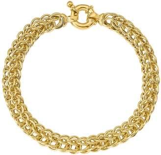 SPIGA Italian Gold Bold Bracelet 14K, 7.1g