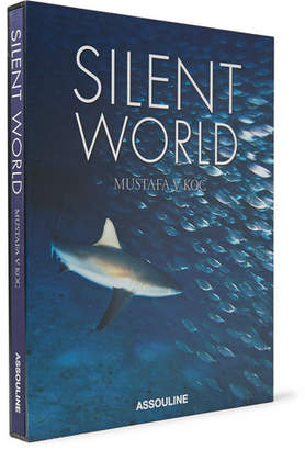 Silent World Hardcover Book