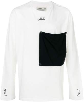 A-Cold-Wall* oversized pocket sweatshirt