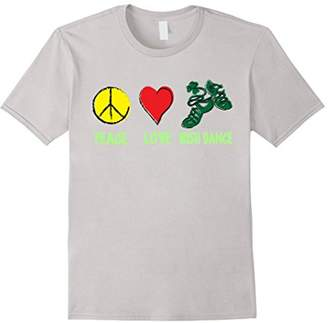 DAY Birger et Mikkelsen Irish Peace Love Irish Dance T-shirt Patrick's