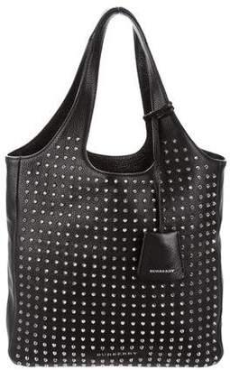 Burberry Studded Leather Bag