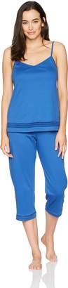 Hanro Women's Stella Crop Pant Pajama Set