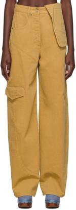 Jacquemus Brown Le Jean de Nimes Jeans