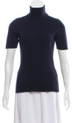 Victoria Beckham Short Sleeve Turtleneck