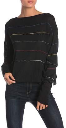 Peace Love World Samantha Colorblock Knit Sweater