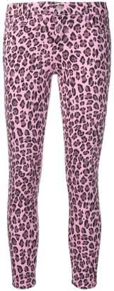 J Brand leopard print skinny jeans