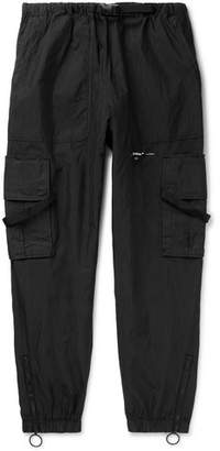 Off-White Off White Tech Cotton-Blend Cargo Trousers