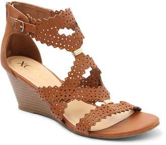 XOXO Satisha Wedge Sandal - Women's