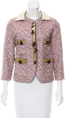Marc Jacobs Metallic Tweed Jacket