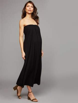 Isabella Oliver Off The Shoulder Maternity Dress