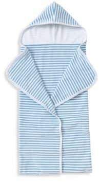 Kissy Kissy Baby's Gone Sailing Striped Hooded Beach Towel