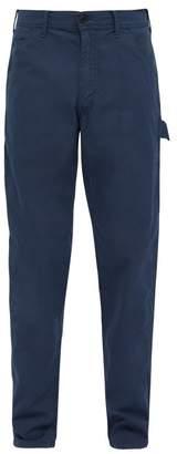 President's - Cotton Poplin Carpenter Trousers - Mens - Navy