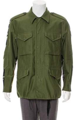 3.1 Phillip Lim Knit-Accented Utility Jacket
