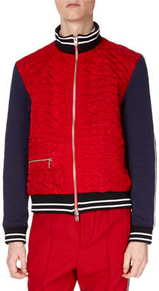 Kenzo Men's Quilted Bomber Jacket