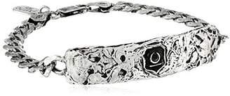 Pyrrha Men's New Beginnings Sterling Identification Bracelet