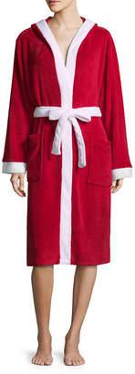 Asstd National Brand Family Pajama Santa Robe - Women's