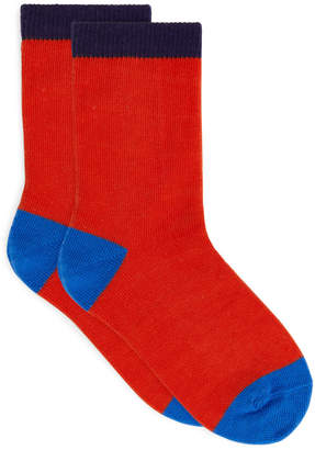 Arket Colour Blocking Socks