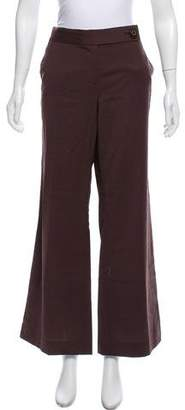 Tory Burch Wool Mid-Rise Pants