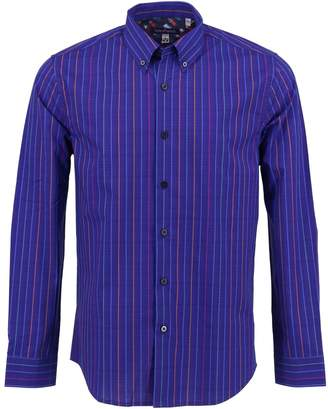 Lords of Harlech - Morris Shirt In Navy Lines