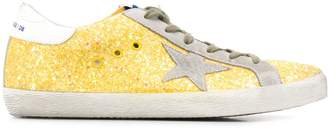 Golden Goose Superstar speckled sneakers