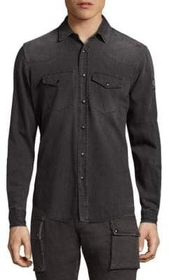 Belstaff Somerford Heathered Shirt