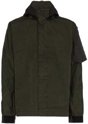 Nemen Guard long sleeve zipped jacket