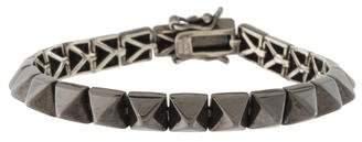 Eddie Borgo Small Pyramid Link Bracelet