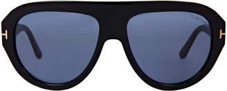 Tom Ford TF589 Felix Black Shield Sunglasses