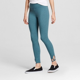 Mossimo Supply Co. Women's Crop Legging with Clover Cut Out - Mossimo Supply Co. $14.99 thestylecure.com