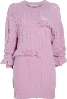 Prabal Gurung Oversized Crewneck Sweater