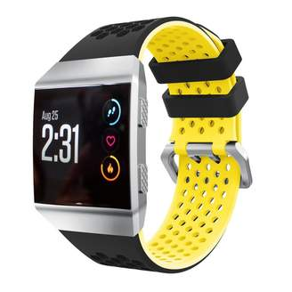 Fitbit For Ionic Smart Watch Strap,GreatTry Lightweight Ventilate Silicone Perforated Accessory Sport Wrist band Watchband