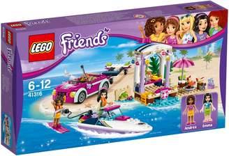 Lego Friends Andrea`s Speedboat Transporter 41316