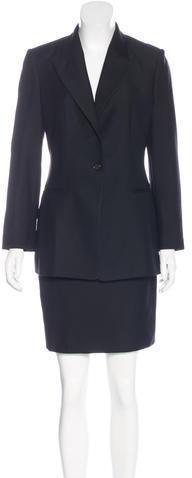 CelineCéline Wool Skirt Suit