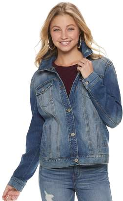 Mudd Juniors' Oversized Jean Jacket